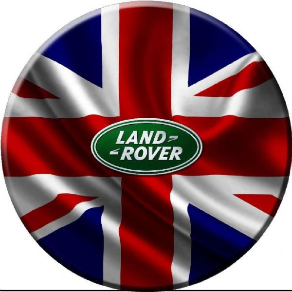 GB LAND ROVER FLAG 4x4 Semi-Rigid Spare Wheel Cover